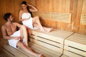 vakantiehuis met zwembad en sauna